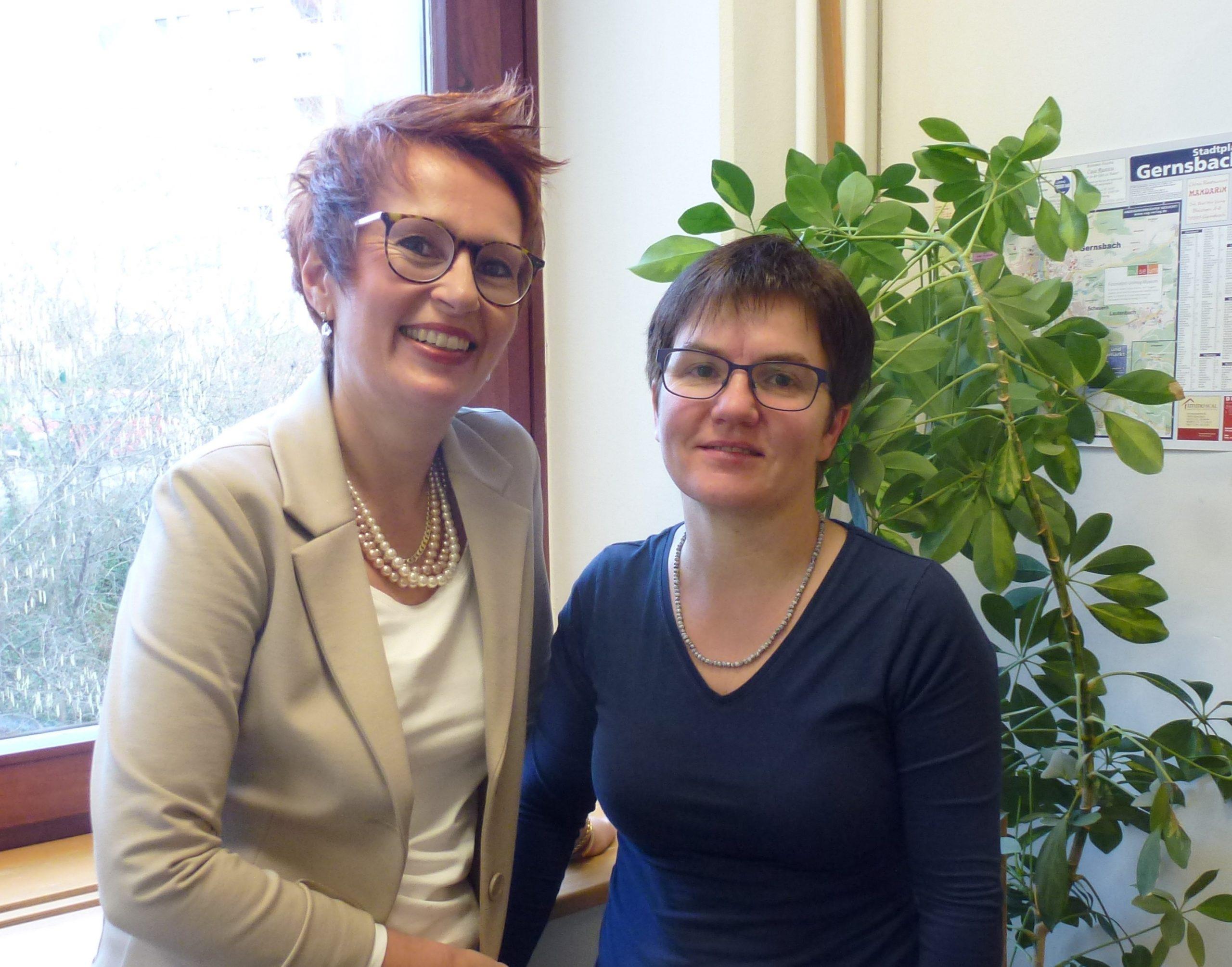 Frau Annette und Frau Gisela Wieland